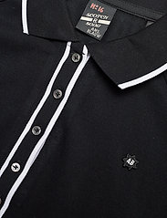 Scotch & Soda - Polo with contrast details - pikeepaidat - black - 2