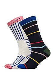 Ams Blauw 2-pack seasonal socks - COMBO A