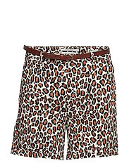 Longer length chino shorts, sold with a belt - COMBO A