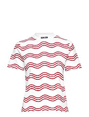 Clean tee with a high neck - COMBO A