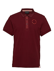 Club Nomade polo in pique quality - NOMADE RED