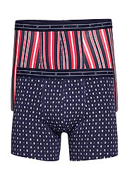 Classic boxer short in seasonal all-over prints - COMBO A