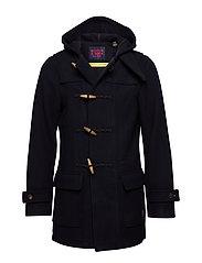 Classic long duffle coat - NIGHT