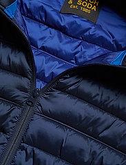 Scotch & Soda - Classic hooded light weight padded jacket - vestes matelassées - navy - 6