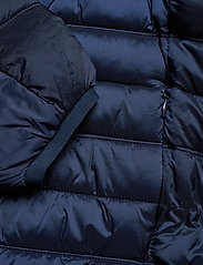 Scotch & Soda - Classic hooded light weight padded jacket - vestes matelassées - navy - 7