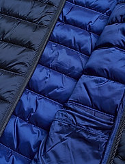 Scotch & Soda - Classic hooded light weight padded jacket - vestes matelassées - navy - 8