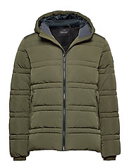 Classic hooded PrimaLoft jacket - ARMY