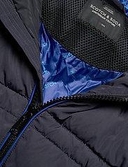 Scotch & Soda - Classic hooded PrimaLoft jacket - vestes matelassées - night - 4