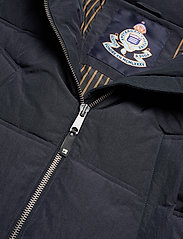 Scotch & Soda - Long quilted down jacket - vestes matelassées - night - 4