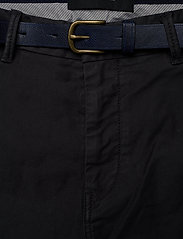 Scotch & Soda - STUART - Classic garment-dyed twill chino - charcoal - 5
