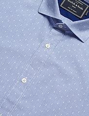 Scotch & Soda - REGULAR FIT- Classic dress shirt in blue - chemises d'affaires - combo d - 3