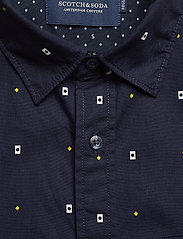 Scotch & Soda - REGULAR FIT- Classic all-over printed pochet shirt - chemises d'affaires - combo a - 3