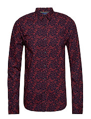 REGULAR FIT - Classic all-over printed shirt - COMBO A