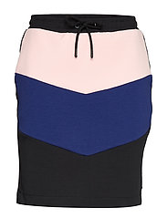 Colorblock sweat skirt - COMBO B