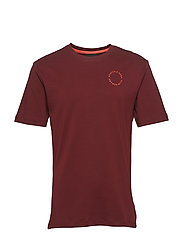 Club Nomade s/s tee with logo print - NOMADE RED