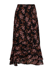 Printed maxi skirt - COMBO F