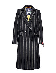 Long double breasted tailored wool coat - COMBO D