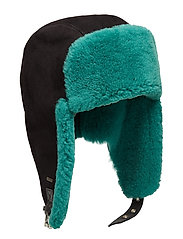 Shearling trapper hat - NIGHT