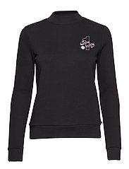 'Maison Scotch' logo sweater - BLACK