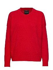 Crewneck knit - PARIS RED