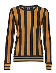 Basic pullover in vertical stripe - COMBO N
