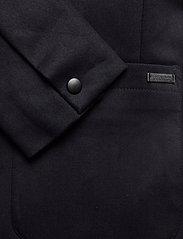 Scotch & Soda - Ams Blauw stretch denim blazer - blazers à boutonnage simple - indigo - 3