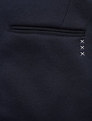 Scotch & Soda - Ams Blauw chic sweat pant with pintuck - suitbukser - navy - 4