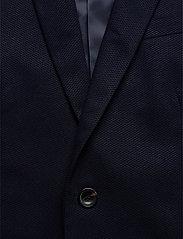 Scotch & Soda - NOS Pique and constructed blazer - enkelknäppta kavajer - navy - 2