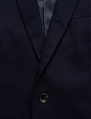 Scotch & Soda - NOS Pique and constructed blazer - blazers à boutonnage simple - navy - 2
