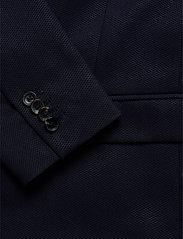 Scotch & Soda - NOS Pique and constructed blazer - blazers à boutonnage simple - navy - 3