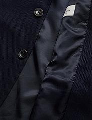 Scotch & Soda - NOS Pique and constructed blazer - enkelknäppta kavajer - navy - 4