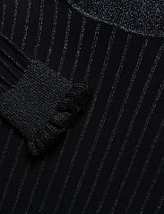 Scotch & Soda - Turtle neck in knitted rib with details - turtlenecks - night - 2