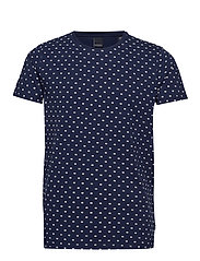 Allover printed Tee - COMBO B