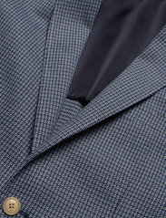 Scotch & Soda - Classic blazer in structured yarn-dyed pattern - blazers à boutonnage simple - combo a - 2