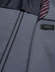 Scotch & Soda - Classic blazer in structured yarn-dyed pattern - enkeltradede blazere - combo a - 4