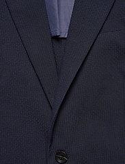 Scotch & Soda - Classic half-lined summer seersucker blazer - blazers à boutonnage simple - midnight - 2