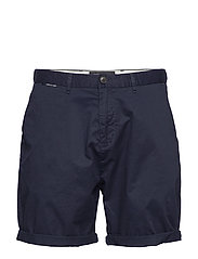Mid length - Classic chino short in pima cotton quality - NIGHT