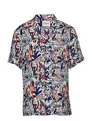 HAWAII FIT- Viscose Hawaii shirt - COMBO A