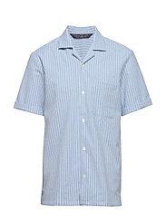 HAWAII FIT- Shortsleeve seersucker shirt - COMBO A