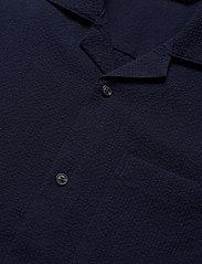 Scotch & Soda - HAWAII FIT- Shortsleeve seersucker shirt - basic skjorter - midnight - 2