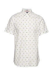 REGULAR FIT- All-over printed shortsleeve shirt - COMBO D