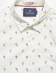 Scotch & Soda - REGULAR FIT- All-over printed shortsleeve shirt - kortærmede skjorter - combo d - 2