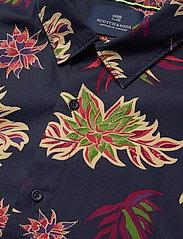 Scotch & Soda - REGULAR FIT- All-over printed shortsleeve shirt - kortærmede skjorter - combo h - 3