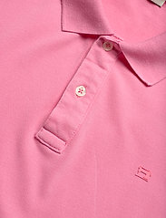 Scotch & Soda - Garment-dyed stretch pique polo - short-sleeved polos - hibiscus pink - 2