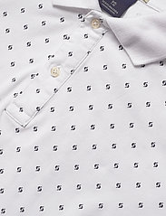 Scotch & Soda - All-over printed polo in stretch pique quality - short-sleeved polos - combo b - 2