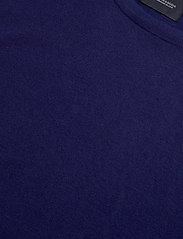 Scotch & Soda - Ams Blauw cotton cashmere crew  neck pull - tricots basiques - sacre blue - 2