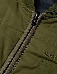 Scotch & Soda - Light weight padded reversible bodywarmer - vests - military green - 3