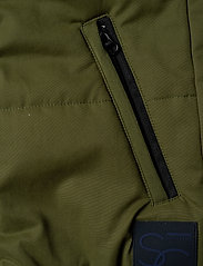 Scotch & Soda - Light weight padded reversible bodywarmer - vests - military green - 4