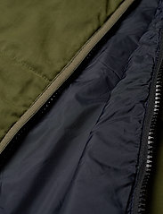 Scotch & Soda - Light weight padded reversible bodywarmer - vests - military green - 5