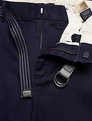Scotch & Soda - Stuart peached twill chino with give away belt - chinos - midnight - 3